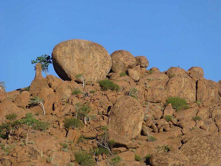 Abwechslungsreiche Landschaften finden Sie auf Ihrer Safari in Namibia.