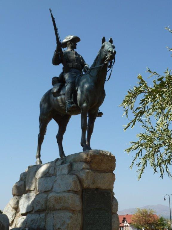 Reiterdenkmal in Windhoek.