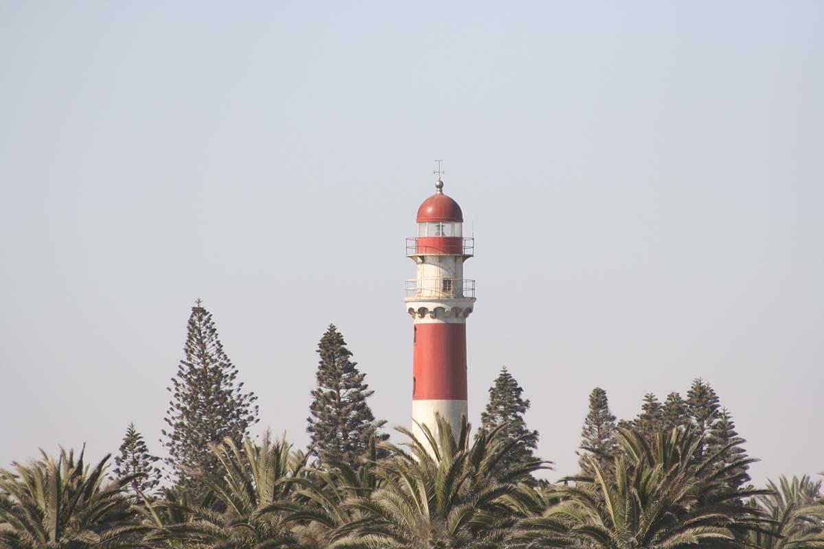 Leuchtturm in Swakopmund.