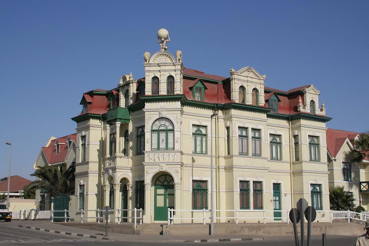Das Hohenzollernhaus in Swakopmund.