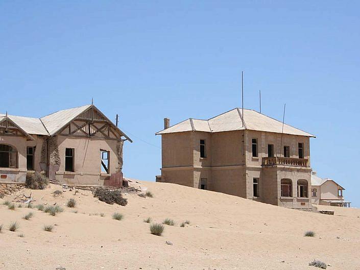 Kolmanskop. Die bekannteste Geisterstadt