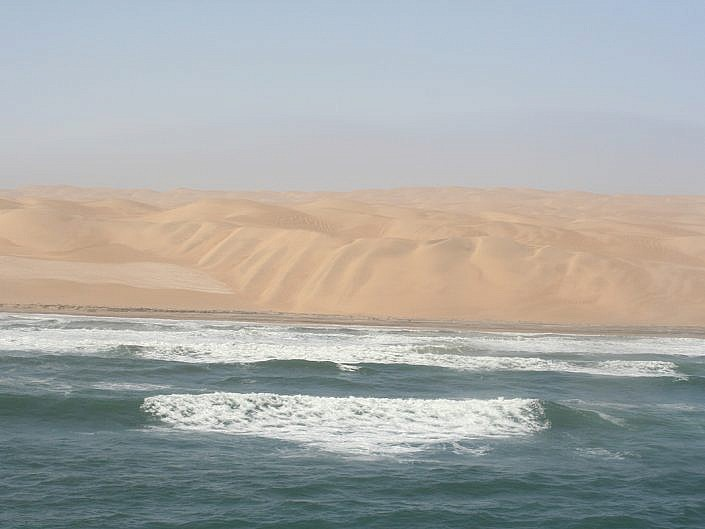 Namibia, zwischen Wüste und Meer.
