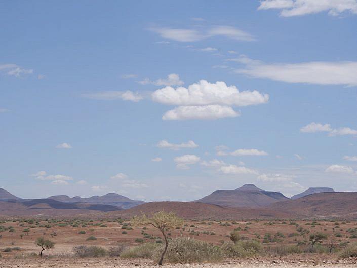Diese Weite erleben Sie nur in Namibia.