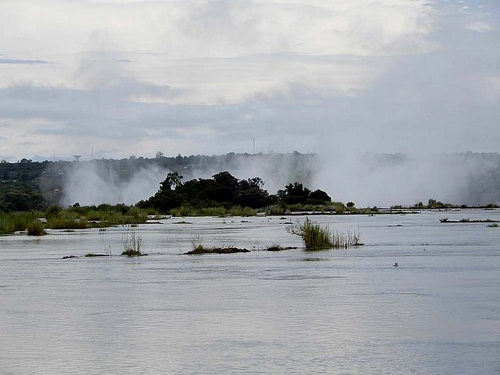 Der Sambesi in Sambia.