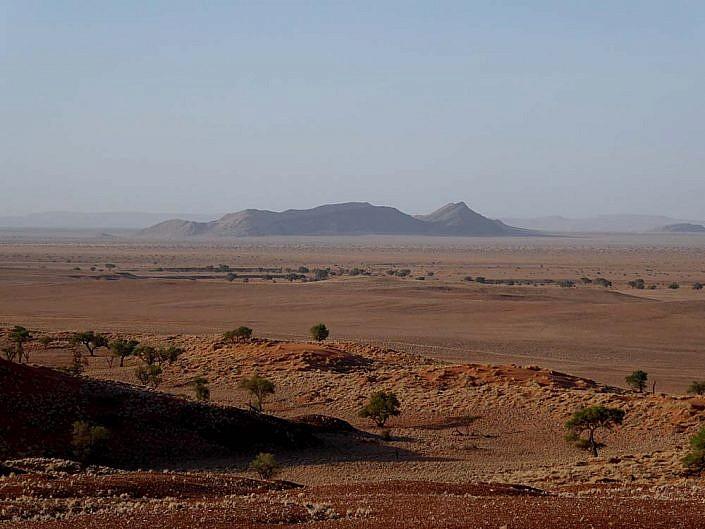 Namibias unendliche Weite.