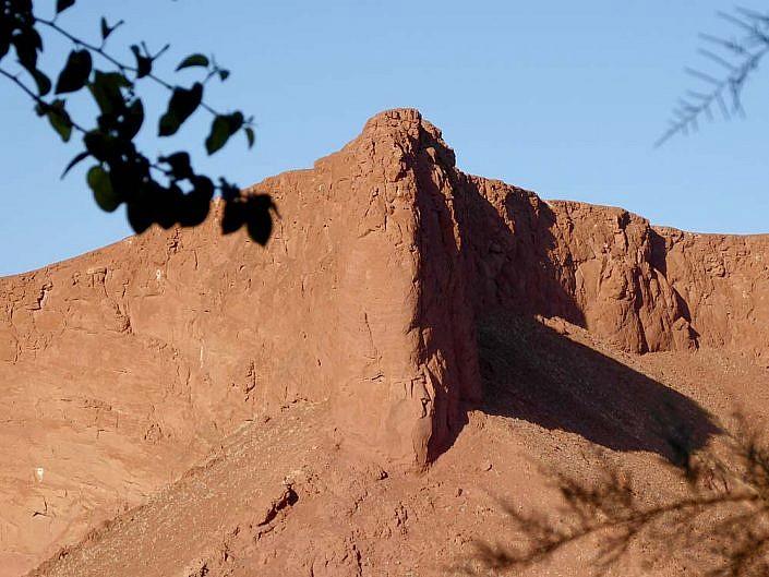 Versteinerte Düne in der Namib.