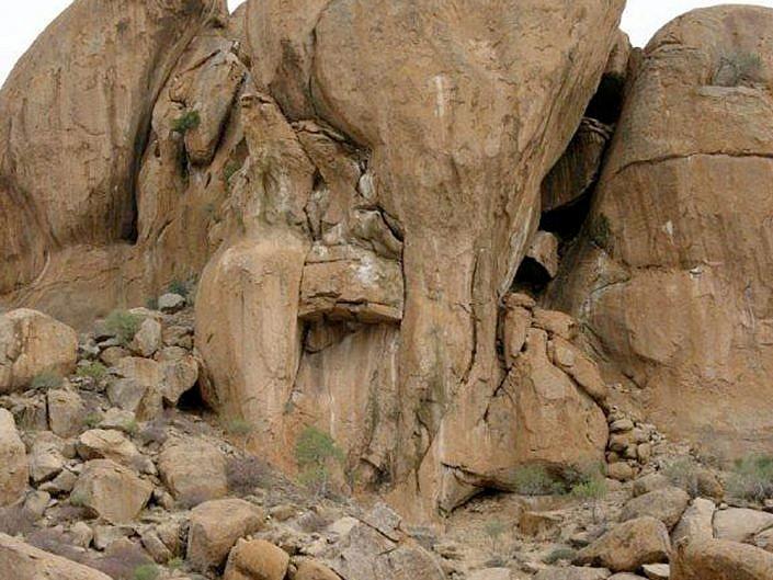 Elephants Head im Erongo. Namibia