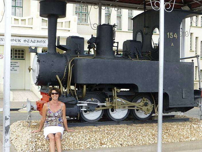 Bahnhof in Windhoek