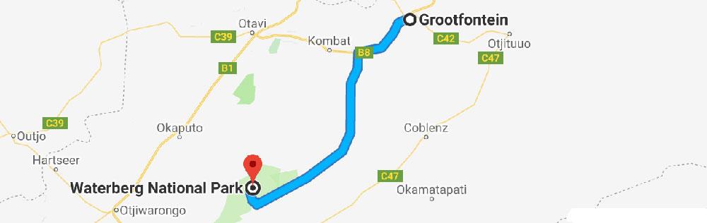Grootfontein – Waterberg
